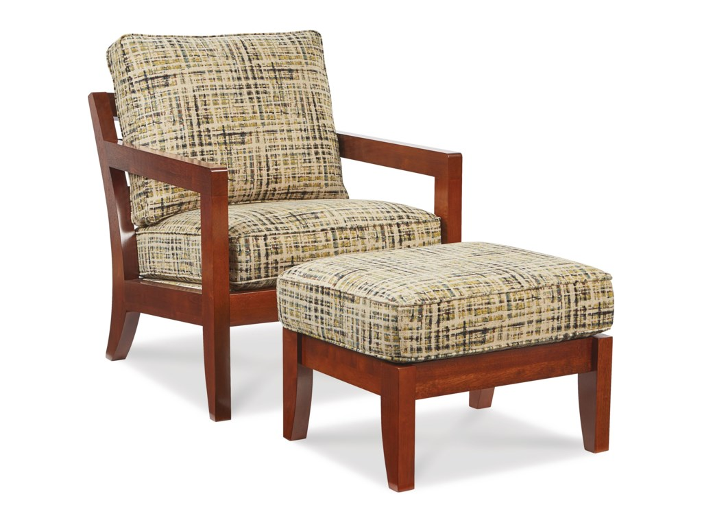 La-Z-Boy ChairsGridiron Chair and Ottoman