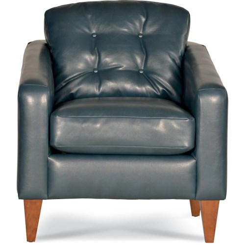 La-Z-Boy Chairs Jazz Accent Chair with Button-Tufting
