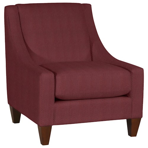 La-Z-Boy Chairs Avenue Chair with Low, Sloped Arms