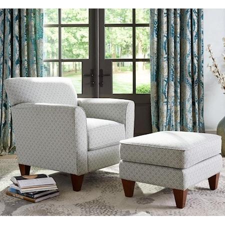 Allegra Chair & Ottoman