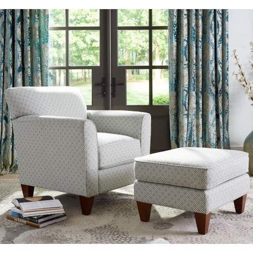 La-Z-Boy Chairs Allegra Chair & Ottoman Set