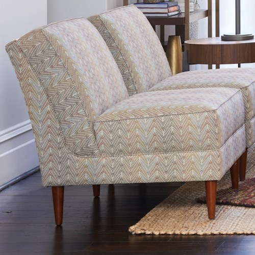 La-Z-Boy Chairs Eve Armless Chair with Premier ComfortCore Cushion
