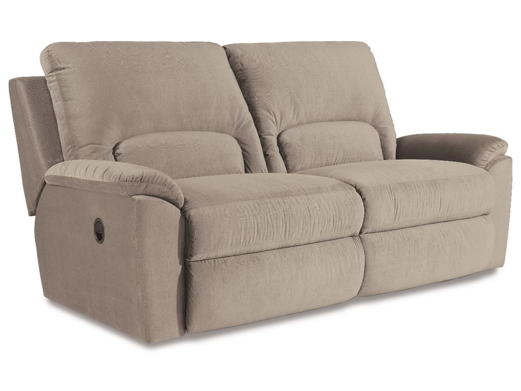 La Z Boy Charger La Z Time Two Seat Reclining Sofa With Wide Seats