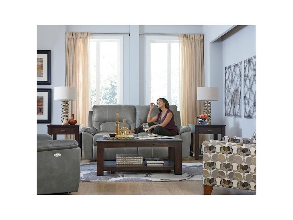 La-Z-Boy ChargerPower La-Z-Time 2 Seat Full Reclining Sofa