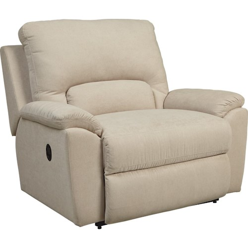 La-Z-Boy Charger Power La-Z-Time® Chair and a Half Recliner