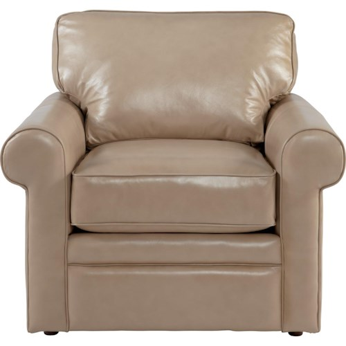 La-Z-Boy Collins Upholstered Chair with Rolled Arms
