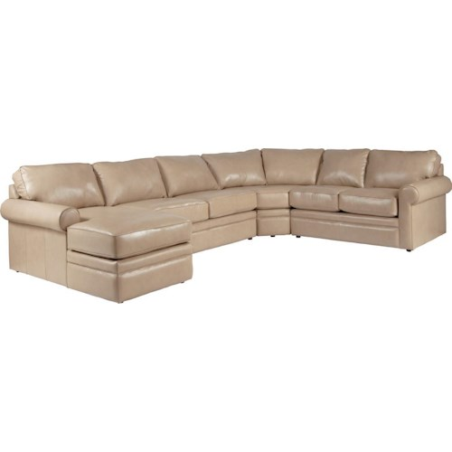 La-Z-Boy Baltic Sectional Sleeper Sofa with Full Mattress