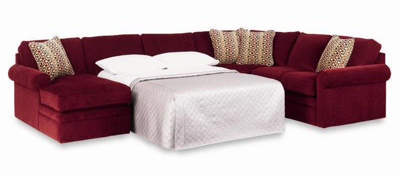 Sectional Shown in Discontinued Fabric Option