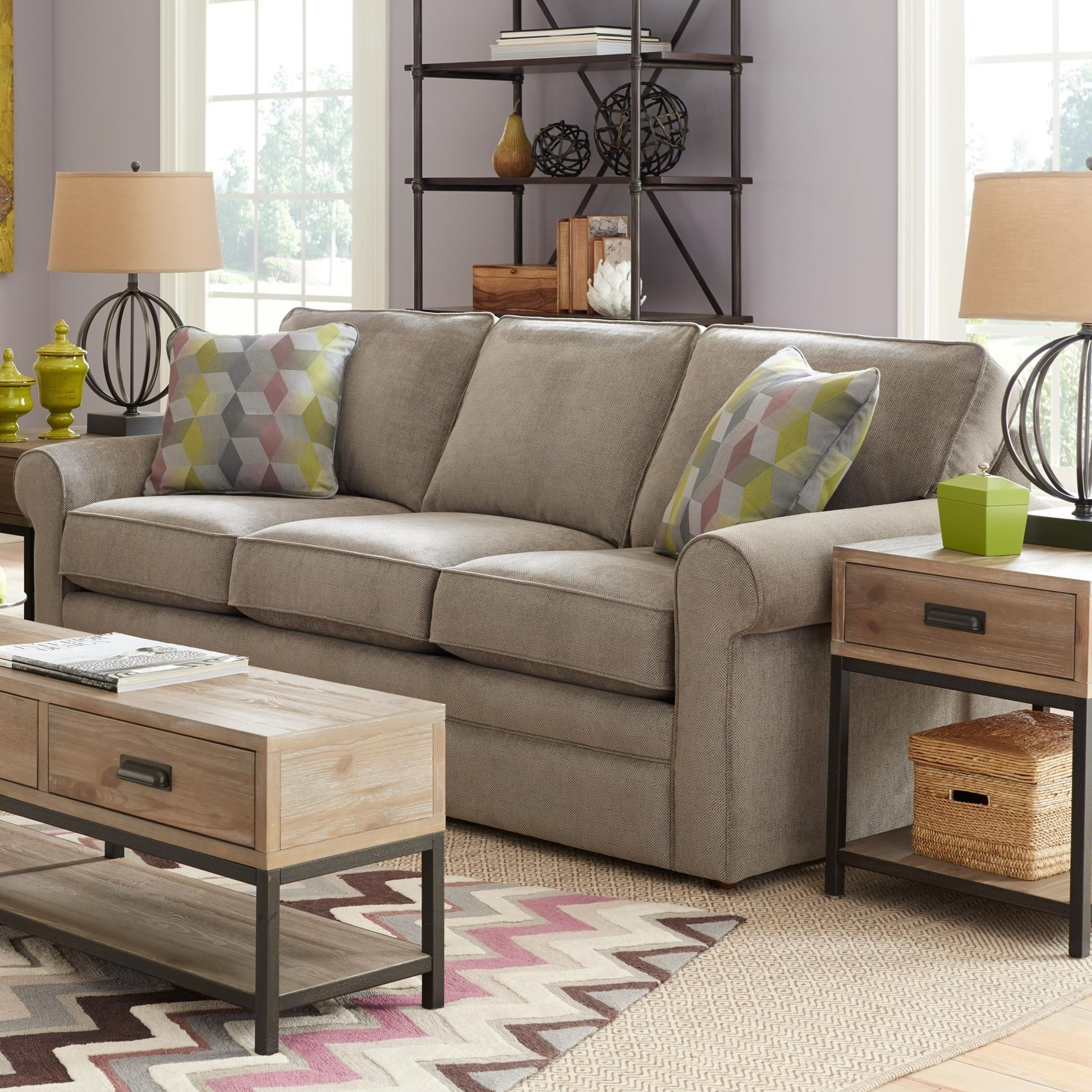 La-Z-Boy Collins Sofa with Rolled Arms - Novello Home Furnishings - Sofas  sc 1 st  Novello Furniture : lazy boy collins sectional price - Sectionals, Sofas & Couches