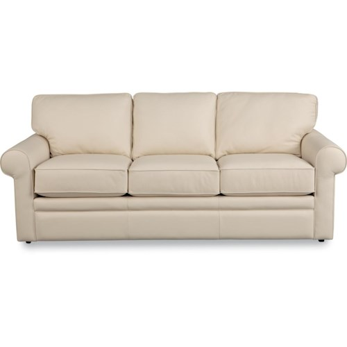 La z boy collins sofa with rolled arms lindy 39 s furniture for Furniture 500 companies