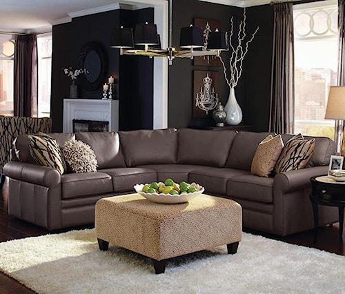 La-Z-Boy Collins Four Piece Corner Sectional Sofa