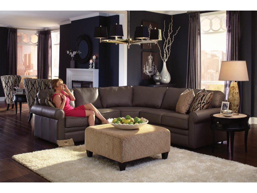 La-Z-Boy Collins4 Pc Corner Sectional Sofa
