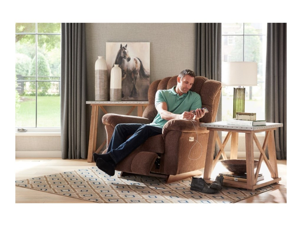 La-Z-Boy Crandell Power Recline XR Reclina-Rocker®