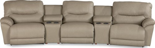 La-Z-Boy Dawson Casual Power Reclining Home Theater Sectional