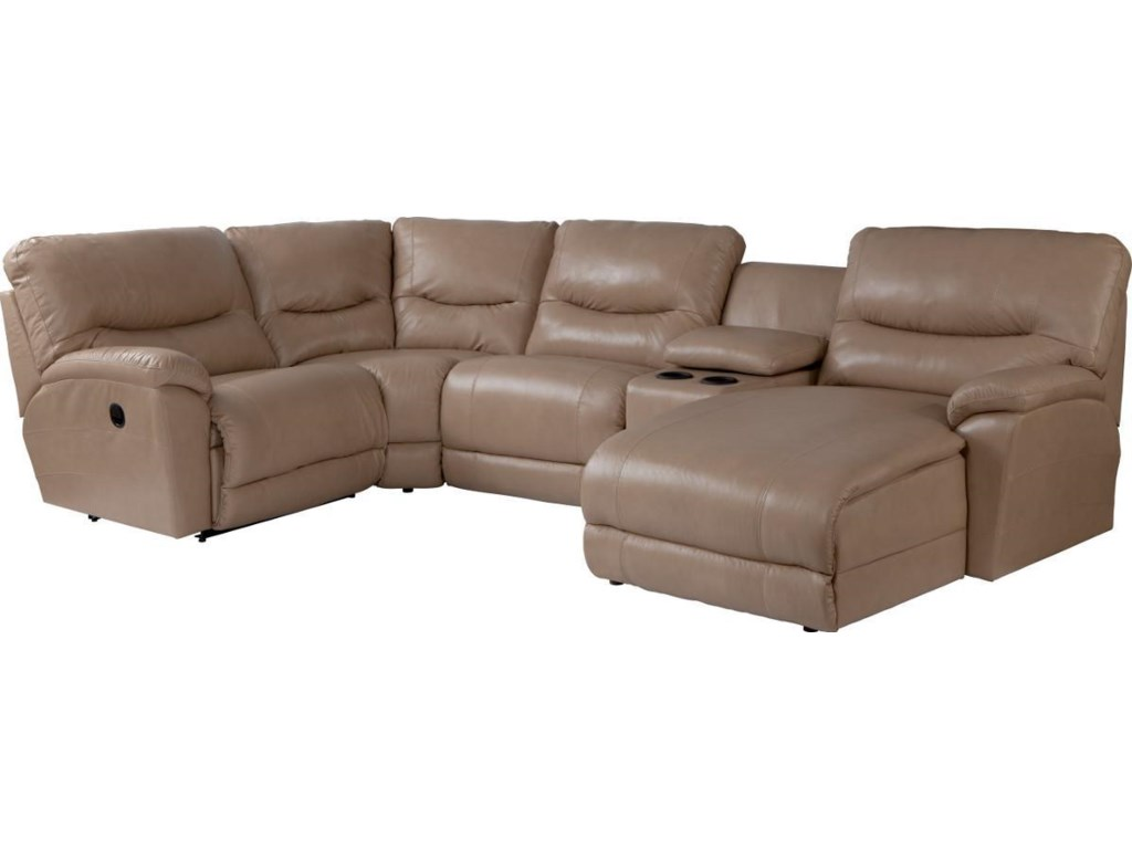 malo reclining sectionals st item brown facing piece room living sectional power left product with seating chaise