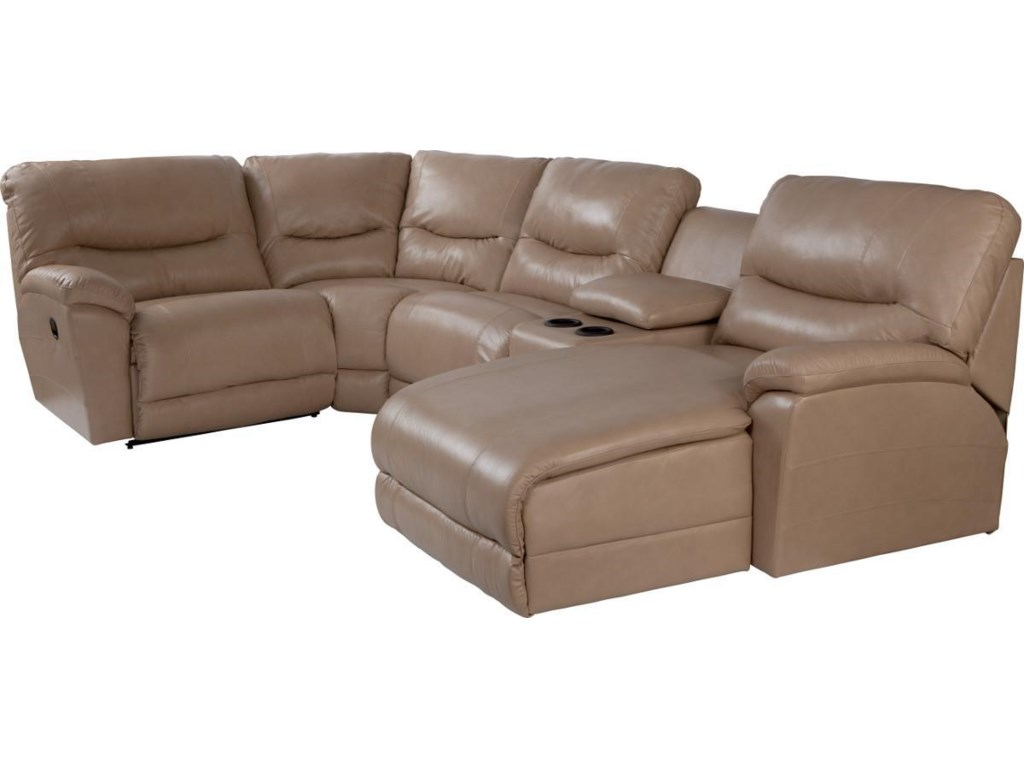 La-Z-Boy Dawson5 Pc Reclining Sectional Sofa w/ LAS Chaise