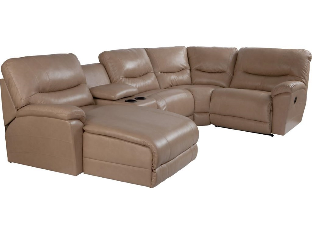 La-Z-Boy Dawson5 Pc Reclining Sectional Sofa w/ RAS Chaise