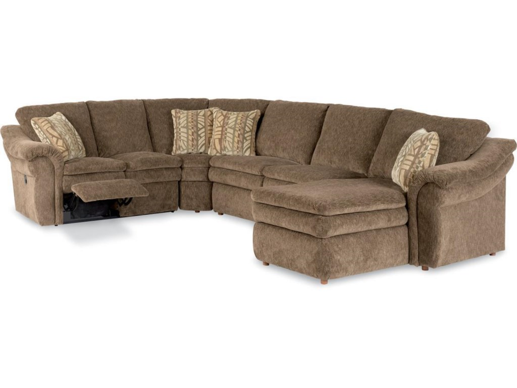 La-Z-Boy Devon Sectional Sofa with LAS Chaise