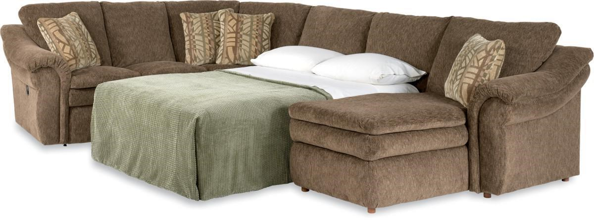 La Z Boy Devon 4 Piece Sectional Sofa ...