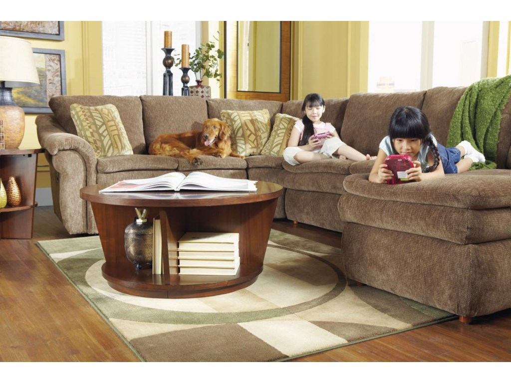 La-Z-Boy Devon 4 Piece Sectional Sofa