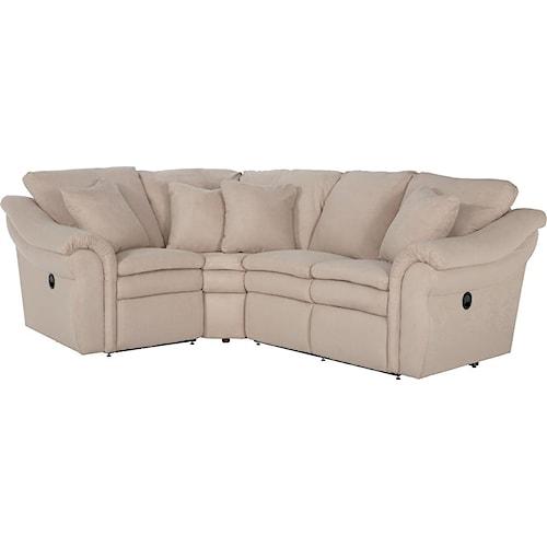 La-Z-Boy Devon  3 Pc Reclining Sectional Sofa with LAS Sofa