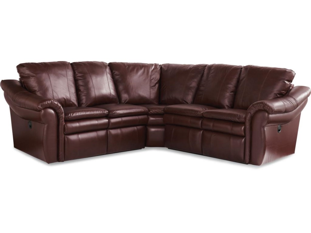 La-Z-Boy Devon 3 Pc Reclining Corner Sectional Sofa | Morris ...