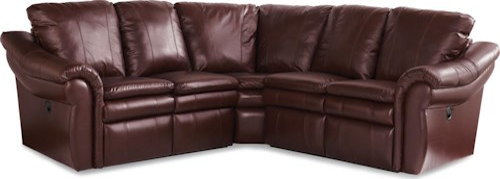 La-Z-Boy Devon  3 Pc Reclining Corner Sectional Sofa