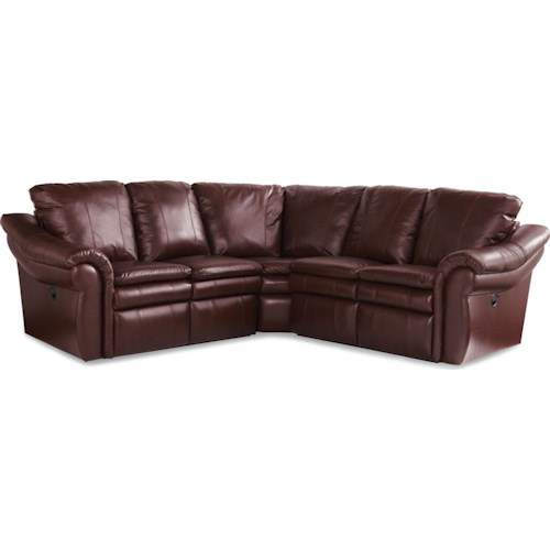 La-Z-Boy Devon  3 Pc Reclining Corner Sectional Sofa