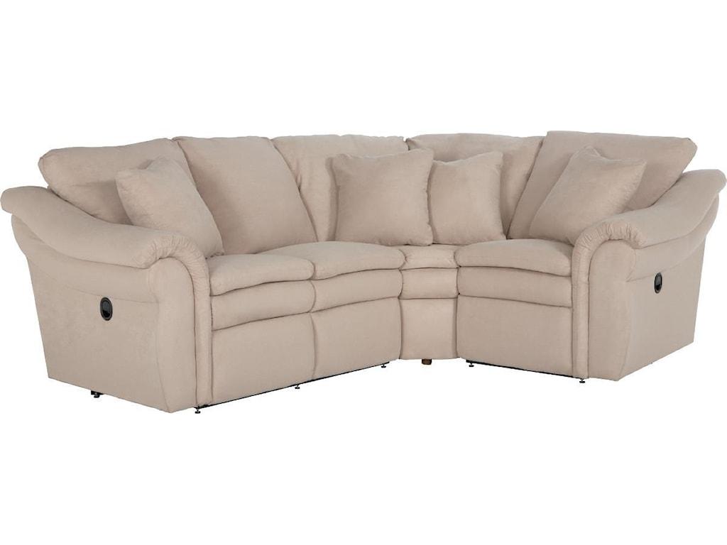 La-Z-Boy Devon 3 Pc Power Reclining Sectional Sofa