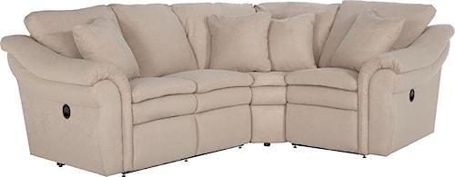 La-Z-Boy Devon  3 Pc Power Reclining Sectional Sofa with LAS Sofa