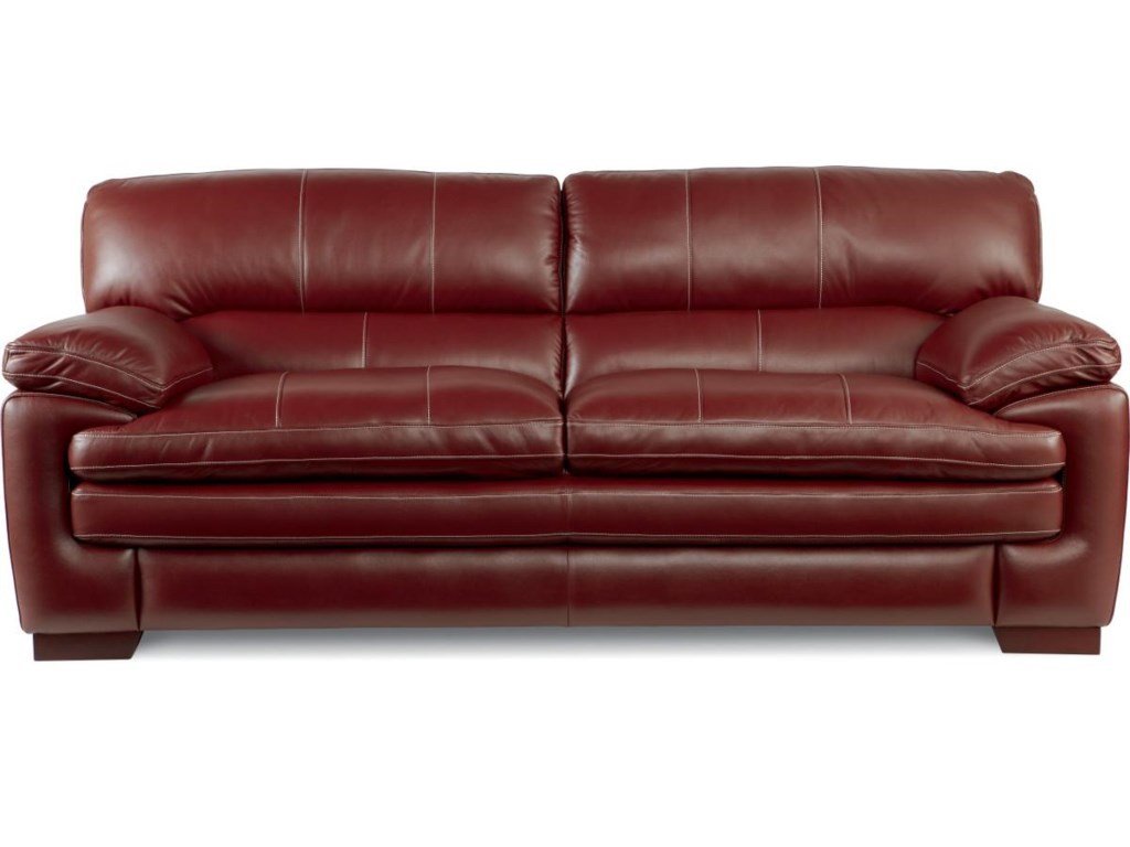 La z boy dexter casual stationary sofa with pillow top arms and la z boy dexter casual stationary sofa with pillow top arms and seat great american home store sofas parisarafo Image collections