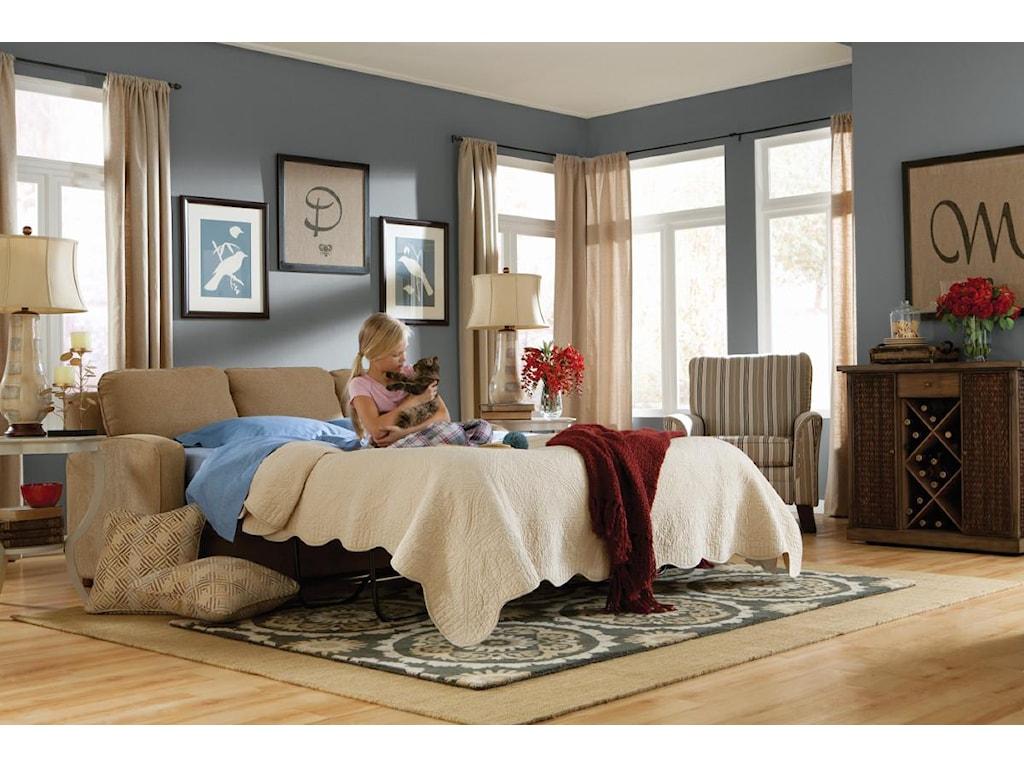 La-Z-Boy DianaSUPREME-COMFORT™ Queen Sleep Sofa