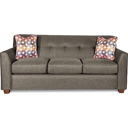 La-Z-Boy Dixie Contemporary Tufted Apartment Sleeper Sofa with ...