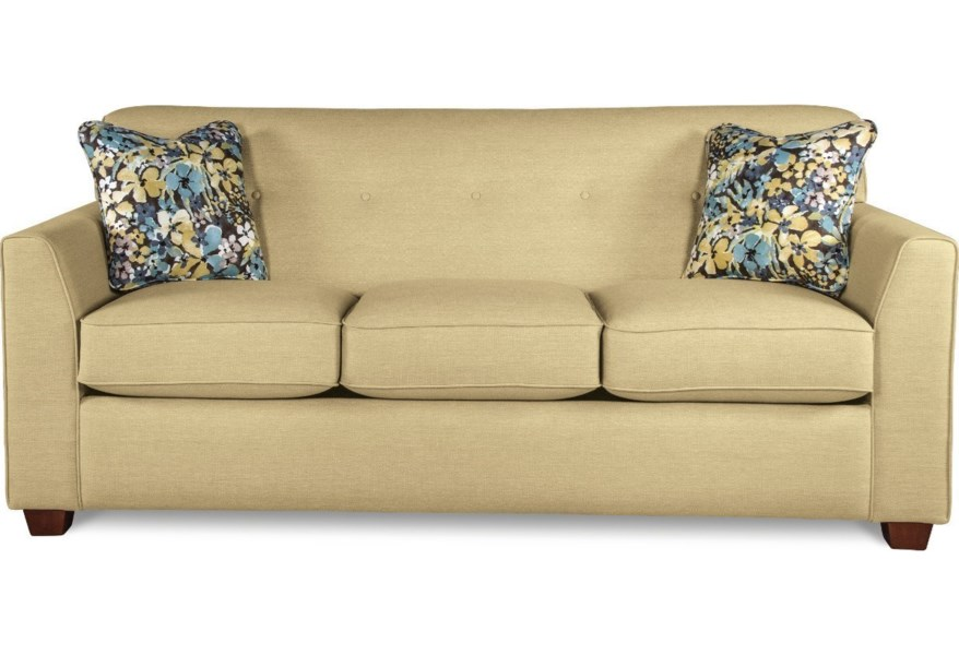 La-Z-Boy Dixie Contemporary Tufted Apartment Sleeper Sofa ...