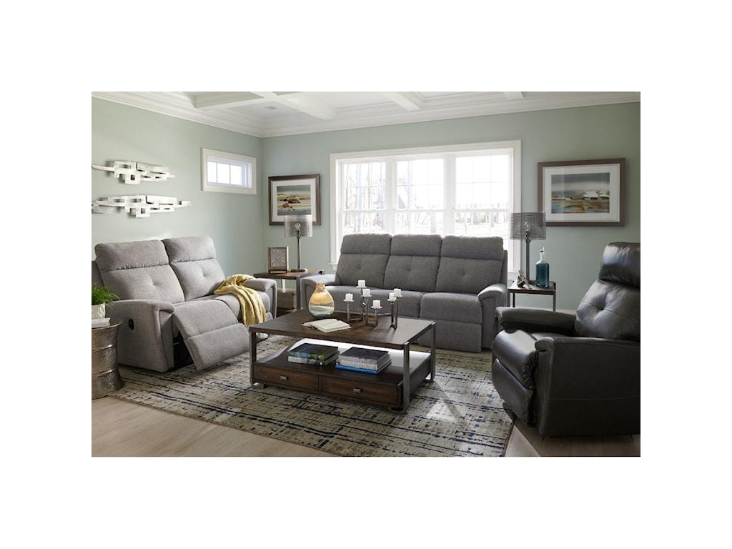 La-Z-Boy DouglasLa-Z-Time Power-Recline Sofa w/ Pwr Headrest