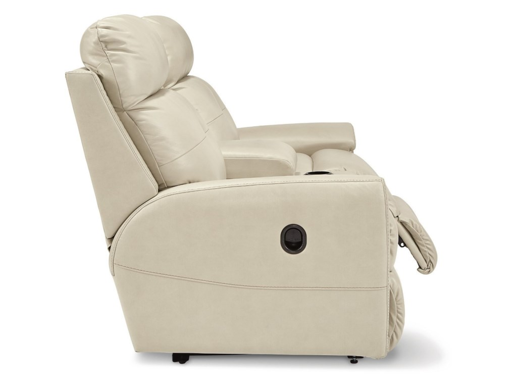 La-Z-Boy DouglasLa-Z-Time Full Reclining Loveseat w/Console