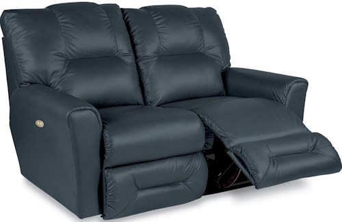 La-Z-Boy EASTON Casual La-Z-Time Full Reclining Loveseat with Power
