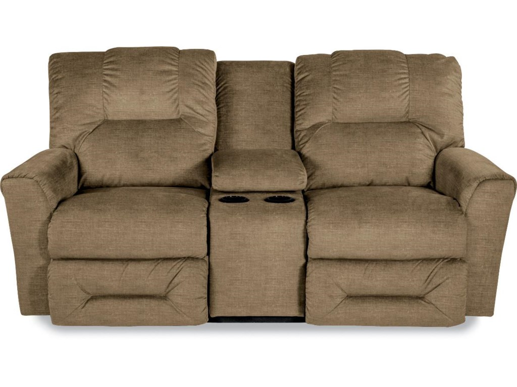 La-Z-Boy EASTONLa-Z-Time® Full Reclining Loveseat w/Console