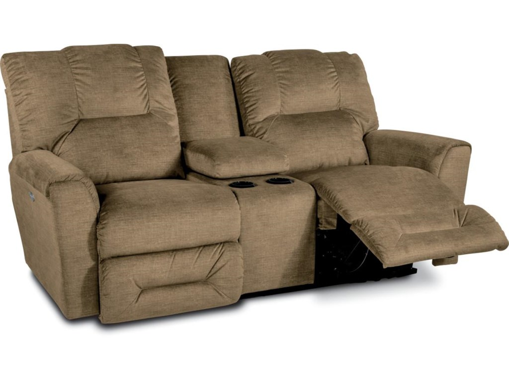 La-Z-Boy EASTONPower Full Reclining Loveseat w/Console