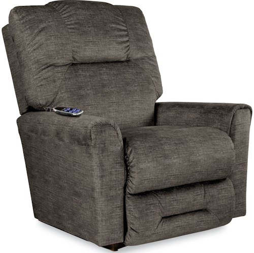 La-Z-Boy EASTON 2-Motor Massage & Heat Power-Recline-XR Rocker Recliner