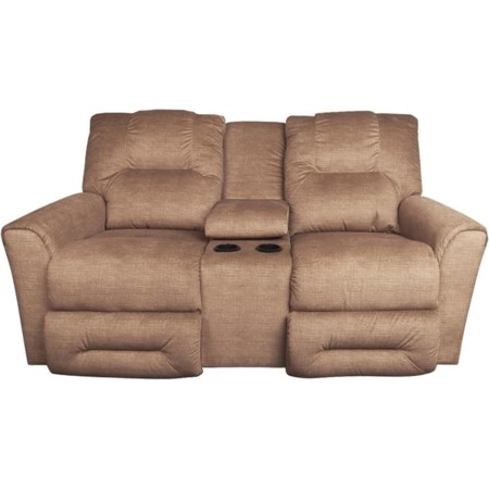 Easton Power Reclining Console Loveseat