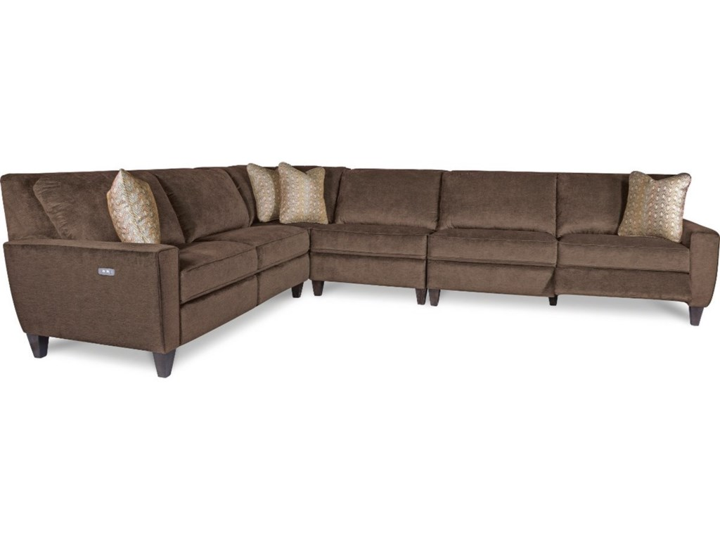 La Z Boy E4 Pc Reclining Sectional Sofa