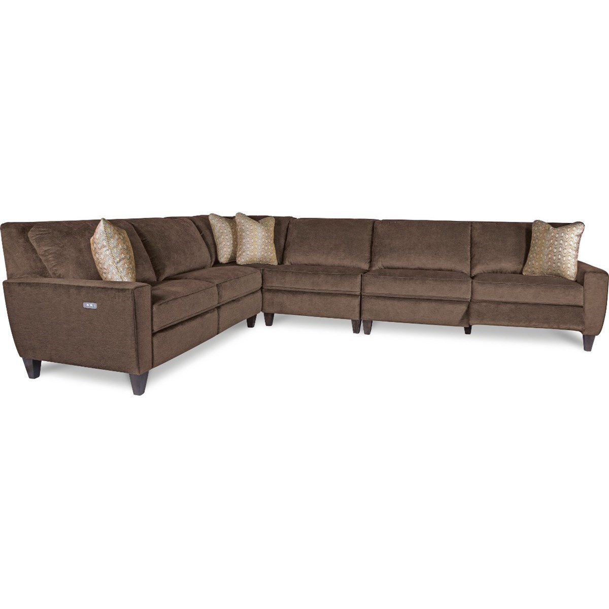 Superieur La Z Boy Edie4 Pc Reclining Sectional Sofa ...
