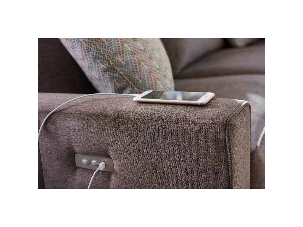 La-Z-Boy Edie4 Pc Reclining Sectional Sofa