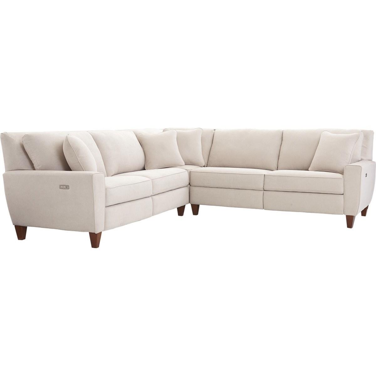 La Z Boy Edie3 Pc Reclining Sectional Sofa ...