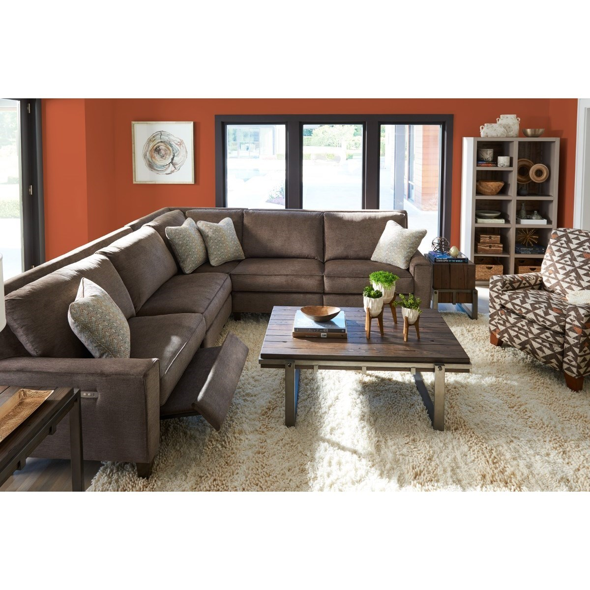... La Z Boy Edie3 Pc Reclining Sectional Sofa ...