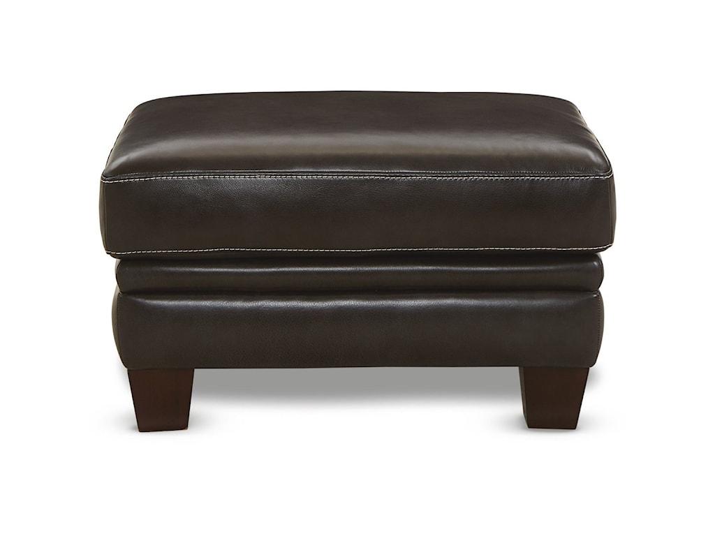La-Z-Boy EllisSignature Leather Ottoman