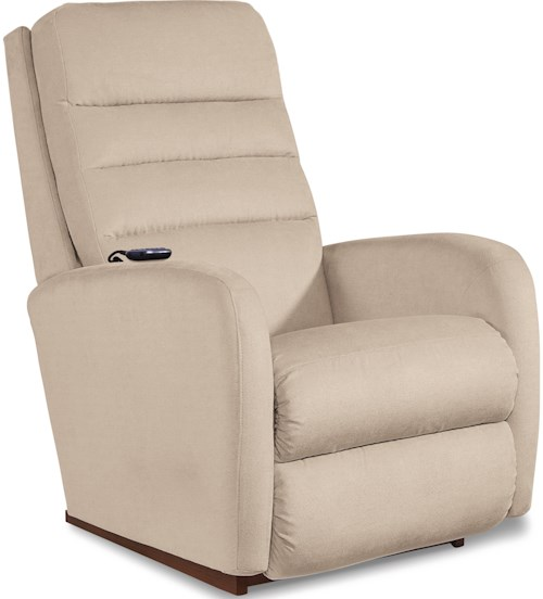 La-Z-Boy Forum Contemporary Power-Recline-XR+ Rocking Recliner with Adjustable Headrest and Lumbar