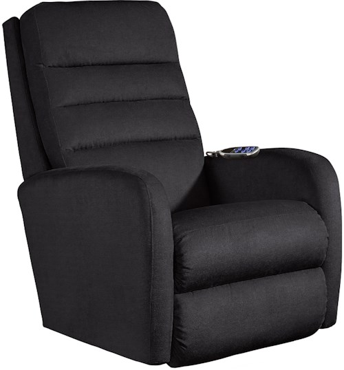 La-Z-Boy Forum Contemporary Power-Recline-XRw™+ Wall Saver Recliner with Adjustable Headrest and Lumbar
