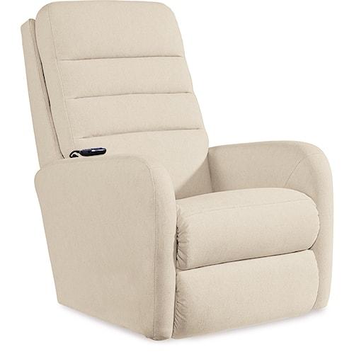 La-Z-Boy Forum Contemporary Power-Recline-XRw™+ Wall SaverRecliner with Adjustable Headrest and Lumbar